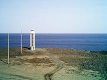 Leuchtturm in der Ostfjordinsel Lizenzfreies Stockbild