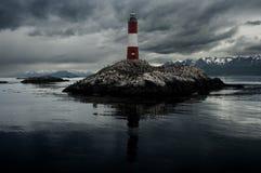 Leuchtturm am Ende der Welt Lizenzfreies Stockbild