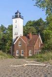 Leuchtturm in Erie Pennsylvania Stockbild