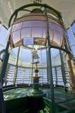 Leuchtturm-erstes Ordnungfresnel-Objektiv lizenzfreie stockbilder