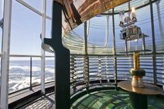 Leuchtturm-erstes Ordnungfresnel-Objektiv 2 Stockbild