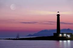 Leuchtturm favignana Lizenzfreies Stockbild