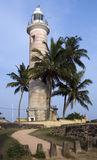 Leuchtturm, Fort-Bezirk, Galle Stockfotografie