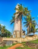 Leuchtturm in Galle, Sri Lanka stockfotos