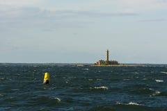 Leuchtturm Garpen Schweden lizenzfreie stockfotografie
