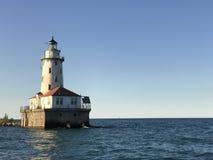 Leuchtturm gegen den Himmel Lizenzfreie Stockbilder