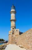 Leuchtturm gegen einen blauen Himmel Lizenzfreie Stockfotos