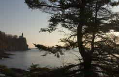 Leuchtturm gestaltet von Tree Stockbild