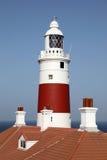 Leuchtturm in Gibraltar Lizenzfreies Stockbild