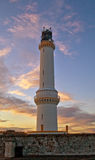 Leuchtturm Girdleness Aberdeen Stockbild
