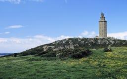 Leuchtturm Herkules 1 Stockfoto
