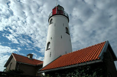 Leuchtturm in Holland Lizenzfreies Stockbild