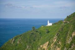 Leuchtturm Igueldo Stockbild