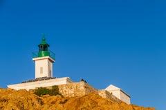 Leuchtturm Ile Rousse, Korsika Lizenzfreies Stockbild