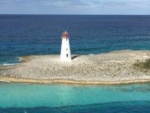 Leuchtturm im Punkt Lizenzfreies Stockbild