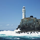 Leuchtturm, Irland Stockbild