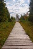 Leuchtturm an Kanten-Schongebiet 2 Stockbild