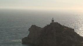 Leuchtturm am Kap stock footage