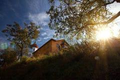 Leuchtturm-Kapelle Lizenzfreie Stockbilder