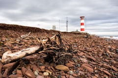 Leuchtturm in Kashkarancy Lizenzfreie Stockfotografie