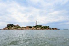 Leuchtturm KE GA Binh Thuan-Provinz, Vietnam Lizenzfreies Stockfoto