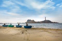 Leuchtturm KE GA, Phan Thiet, Vietnam Lizenzfreie Stockbilder