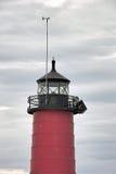 Leuchtturm Kenosha Pierhead Stockfotografie