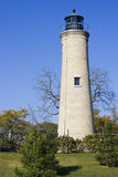 Leuchtturm in Kenosha, Wisconsin Stockbild