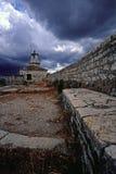Leuchtturm in Kerkyra, Korfu Lizenzfreies Stockfoto