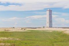 Leuchtturm Lagoa DOS Patos Stockfoto