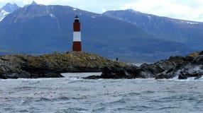 Leuchtturm Les Eclaireurs, Ushuaia Lizenzfreie Stockfotos
