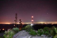 Leuchtturm-Lichter Stockbild