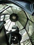 Leuchtturm-Linse Stockfoto