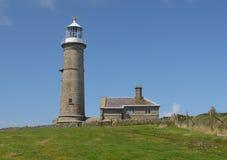 Leuchtturm Lundy Insel Lizenzfreie Stockbilder