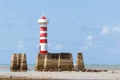 Leuchtturm in Maceio Lizenzfreies Stockbild