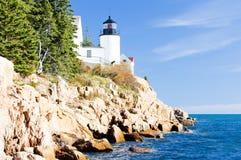 Leuchtturm in Maine Lizenzfreies Stockfoto