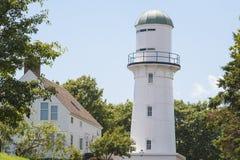 Leuchtturm in Maine lizenzfreie stockfotografie