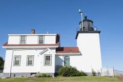 Leuchtturm in Maine stockfotografie