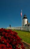Leuchtturm Maine stockfotografie
