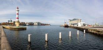 Leuchtturm in Malmö Stockbilder