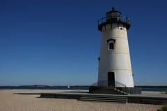 Leuchtturm am Martha's Vineyard Lizenzfreies Stockbild
