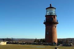 Leuchtturm, Martha-` s Weinberg Stockfotografie