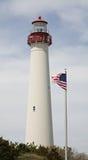 Leuchtturm mit Markierungsfahne Lizenzfreie Stockfotografie