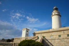 Leuchtturm morgens Schutzkappe Formentor Lizenzfreie Stockfotografie
