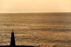 Leuchtturm am Nachmittag Lizenzfreie Stockbilder
