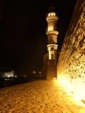 Leuchtturm nachts Stockfotografie
