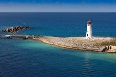 Leuchtturm in Nassau, Bahamas Lizenzfreie Stockfotos
