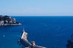 Leuchtturm Nett, Frankreich lizenzfreie stockfotografie
