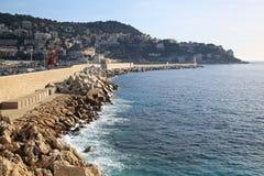 Leuchtturm in Nizza Stockfoto