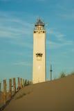 Leuchtturm Noordwijk, die Niederlande Lizenzfreie Stockfotos